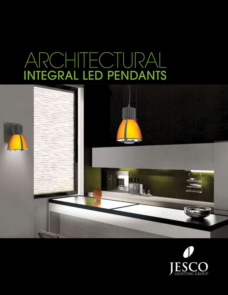 Architectural Integral LED Pendants Brochure
