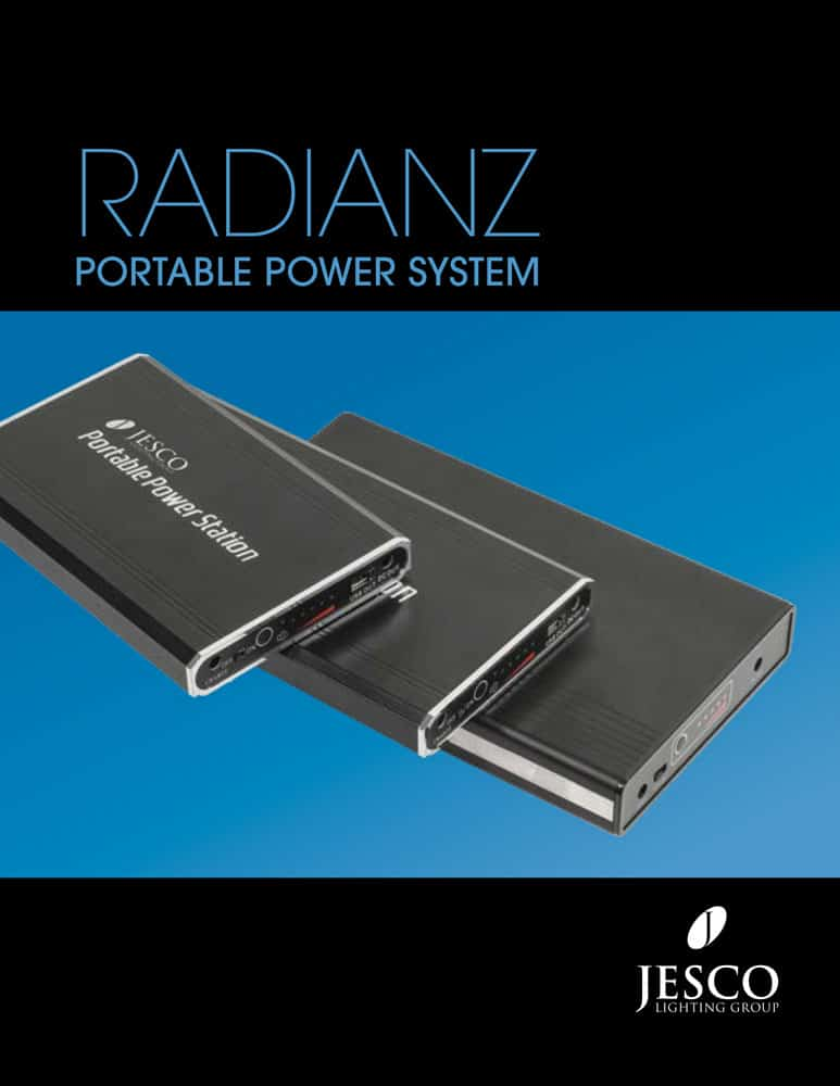 RADIANZ Portable Power System Brochure