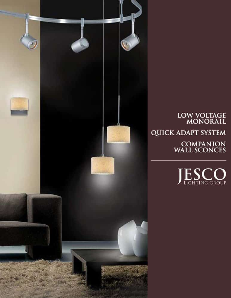 Low Voltage Monorail & Wall Sconces Catalog