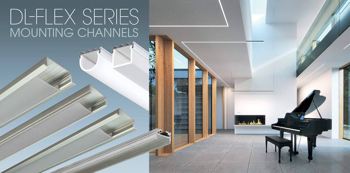 DL-Series Mounting Channels