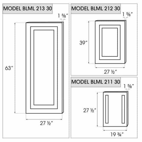 BLML-21x-30 dimensions