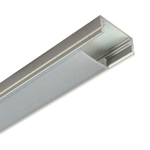WIDE CHANNEL SET WITH FROSTED SNAP-IN COVER