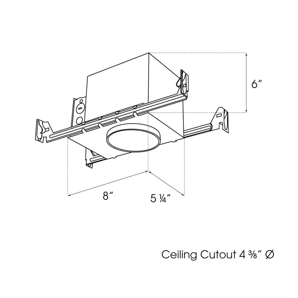 """4"""" New Construction IC Housing dimensions"""