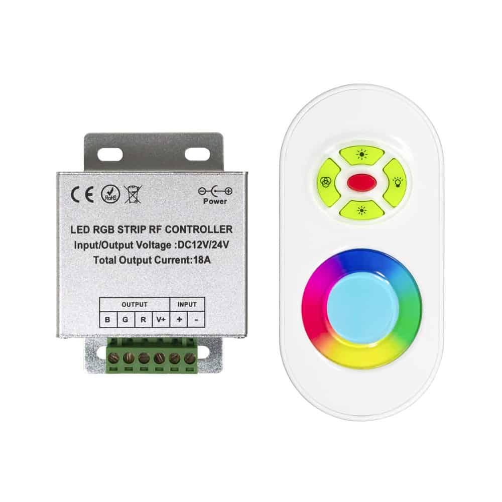 BASIC RADIO FREQUENCY RGB REMOTE CONTROLLER LC-RF-300