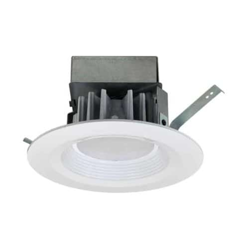 "6"" Residential AC LED Downlight with integral Junction Box Remodel"