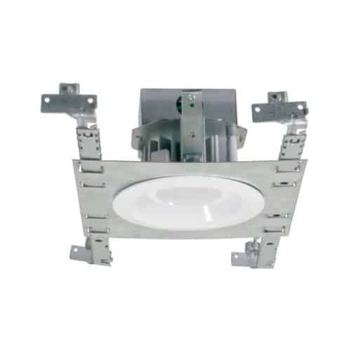 "4"" Residential AC LED Downlight with integral Junction Box New Construction"